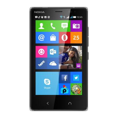 Nokia X2 Dual SIM (Black, 4 GB)