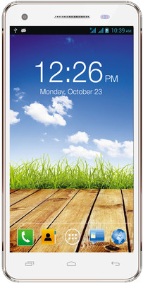 Micromax Canvas 4 Plus A315 (White and Gold, 12.78 GB)